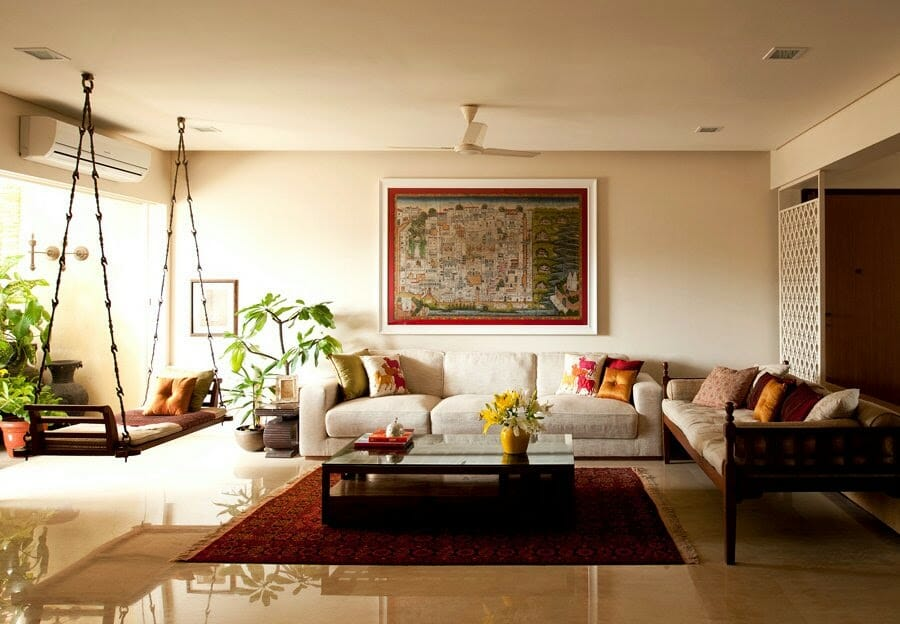 Indian Traditional Interior Design