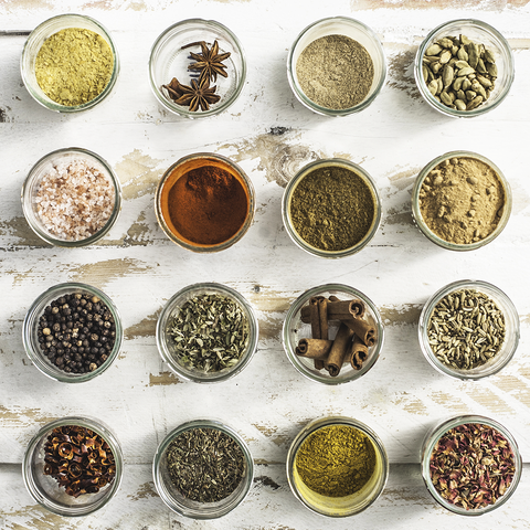Great ways to organize spices in your wardrobe, drawer or pantry