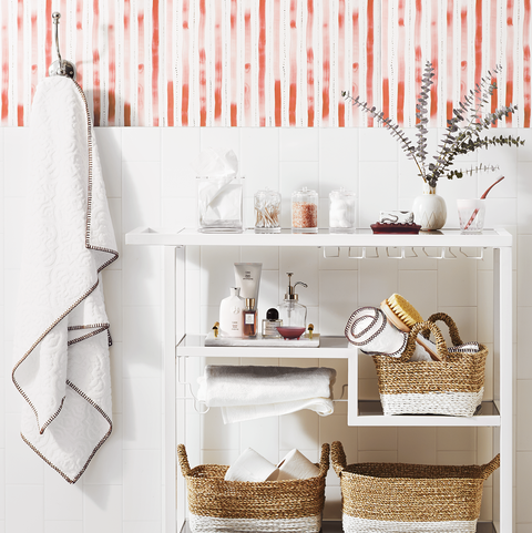 Smart storage ideas to get the most out of a small bathroom