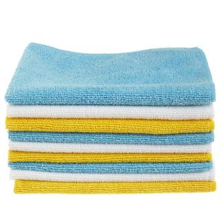 Microfiber cleaning cloth package