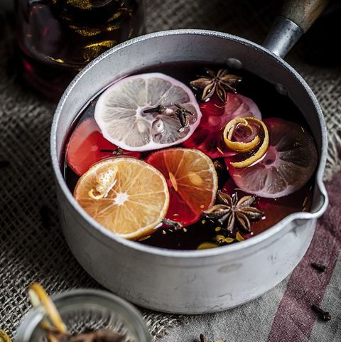 how to make your home smell nice - mulled wine