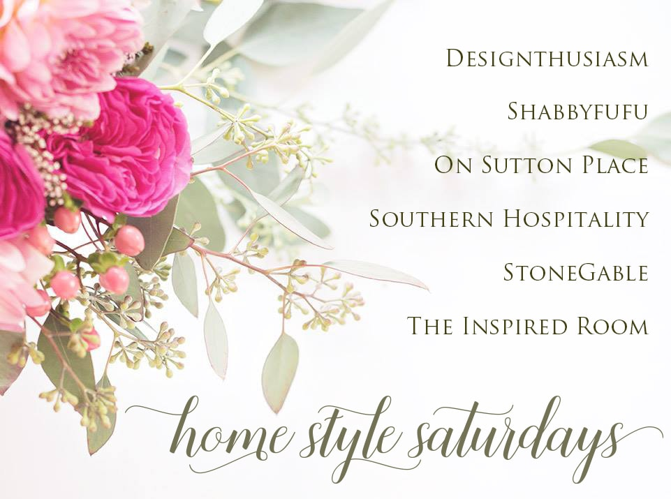 Decorating and entertainment ideas: Saturday at home