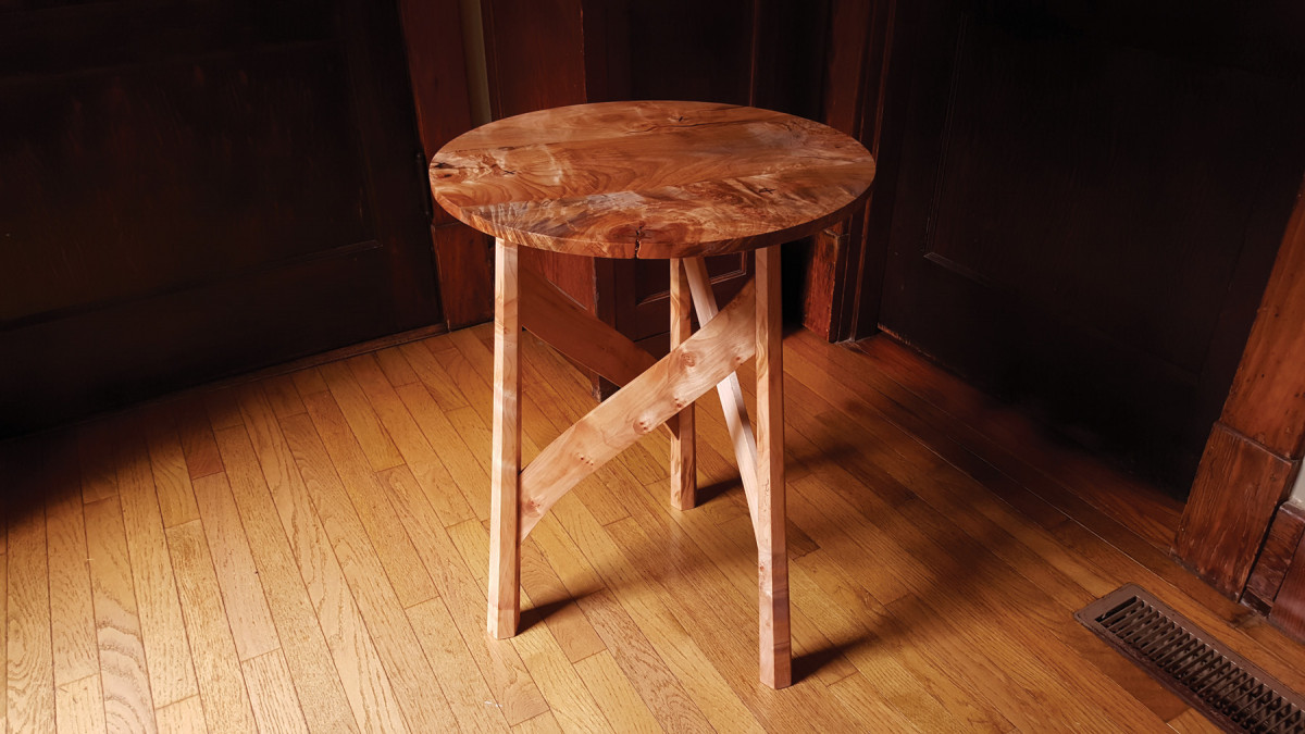 Arts Crafts Occasional Table