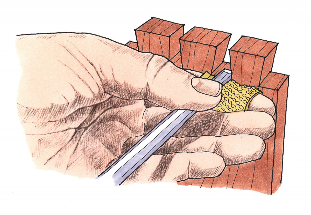Protect Your Hands From Chisel Lands