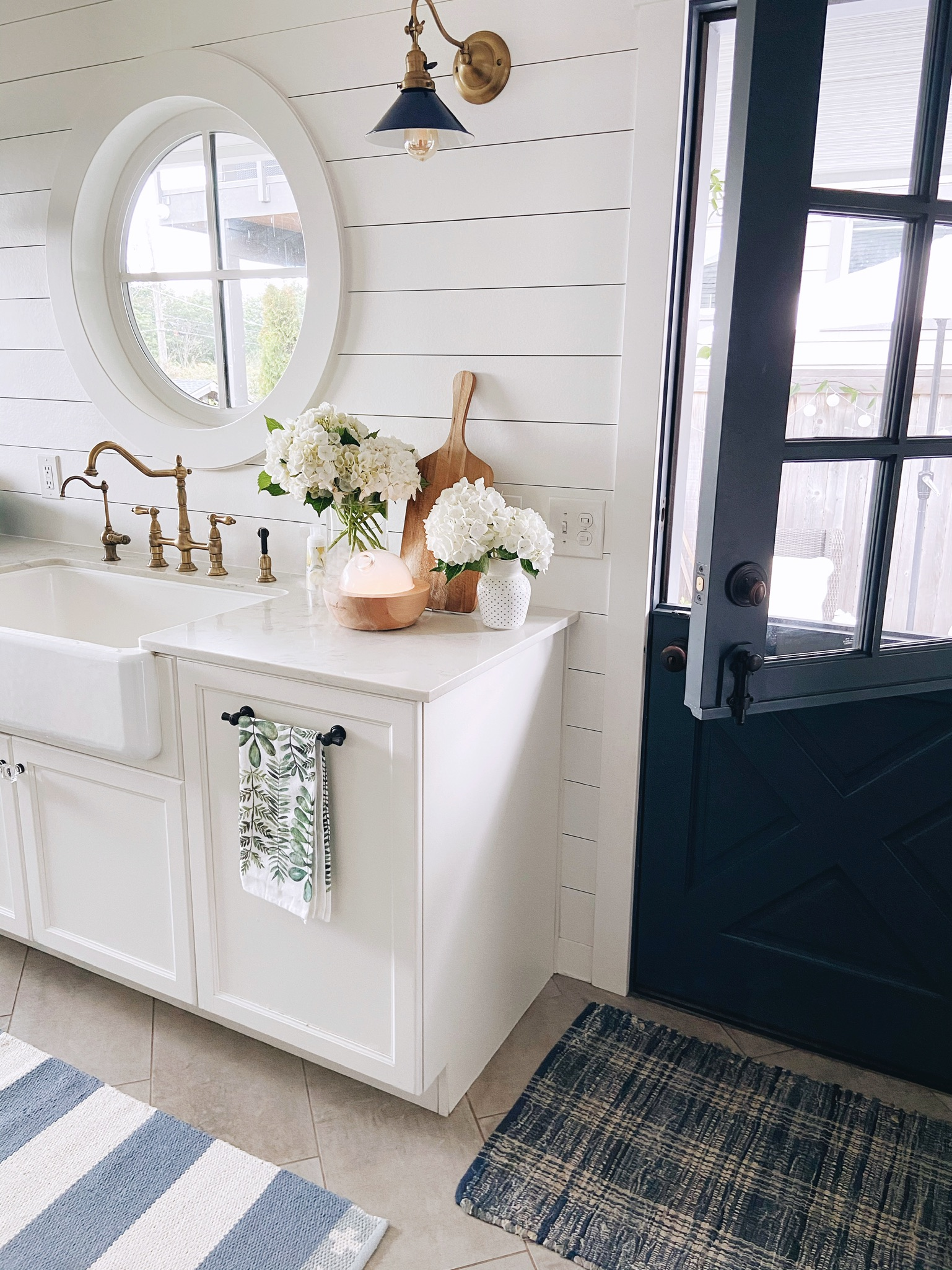 The joy of a clean sink + four daily routines