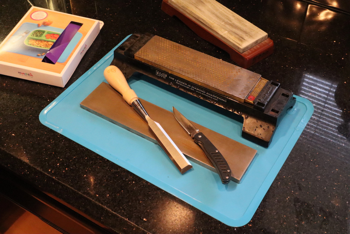 Inexpensive Mat for Your Wet Sharpening Needs