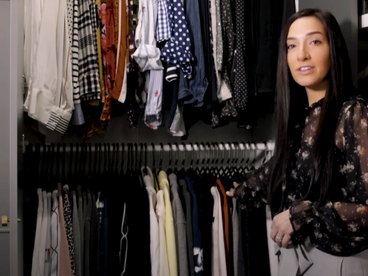 Tour a Professionally Organized Walk-In Closet