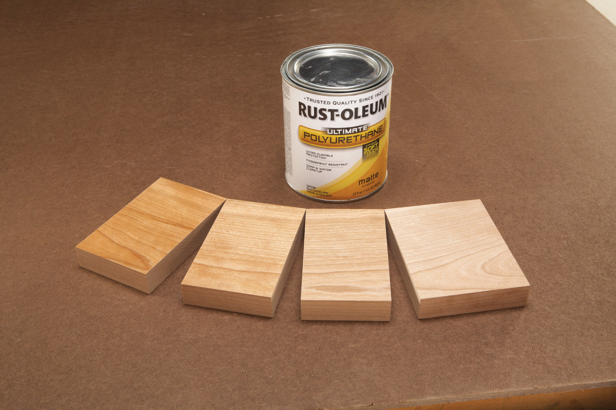 No-Finish Look, Poly Protection | Popular Woodworking Magazine