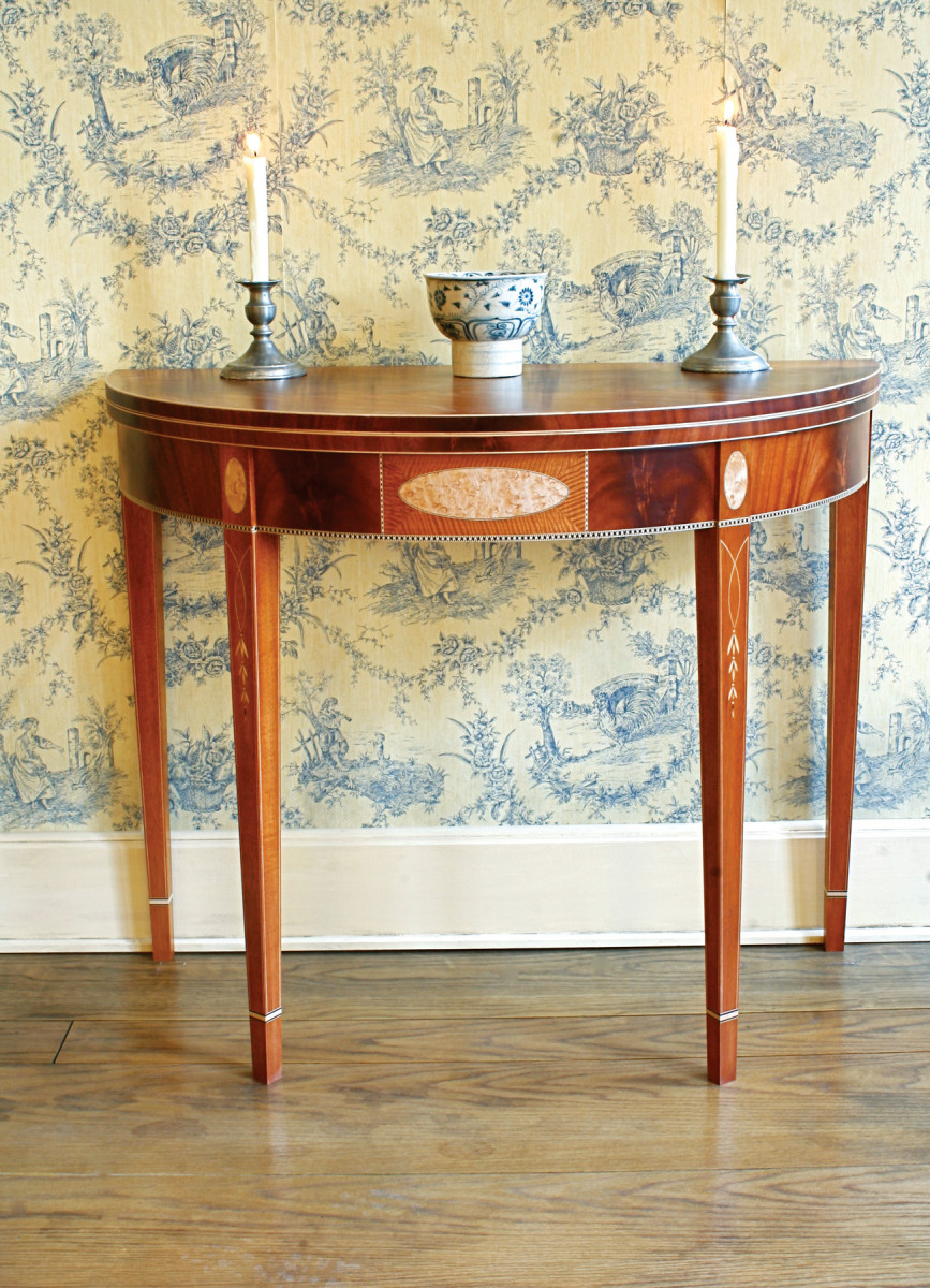 Portsmouth Card Table | Popular Woodworking Magazine