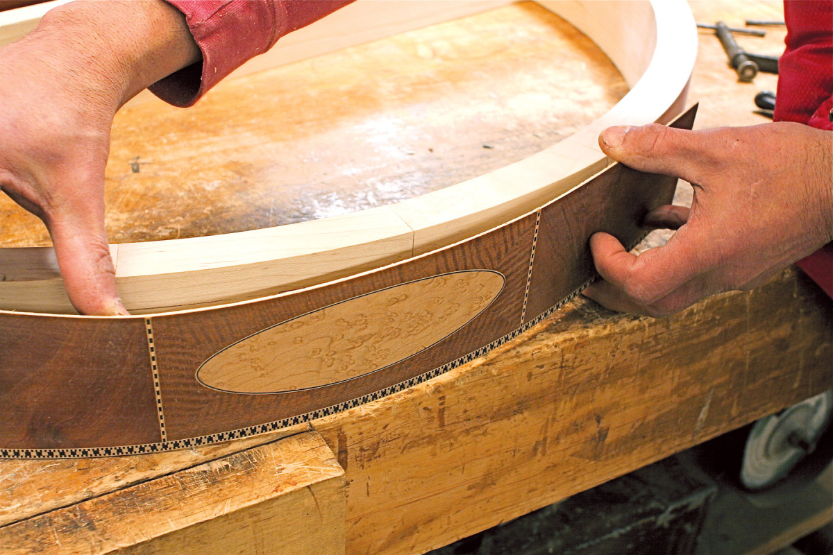Veneering the Curve | Popular Woodworking Magazine