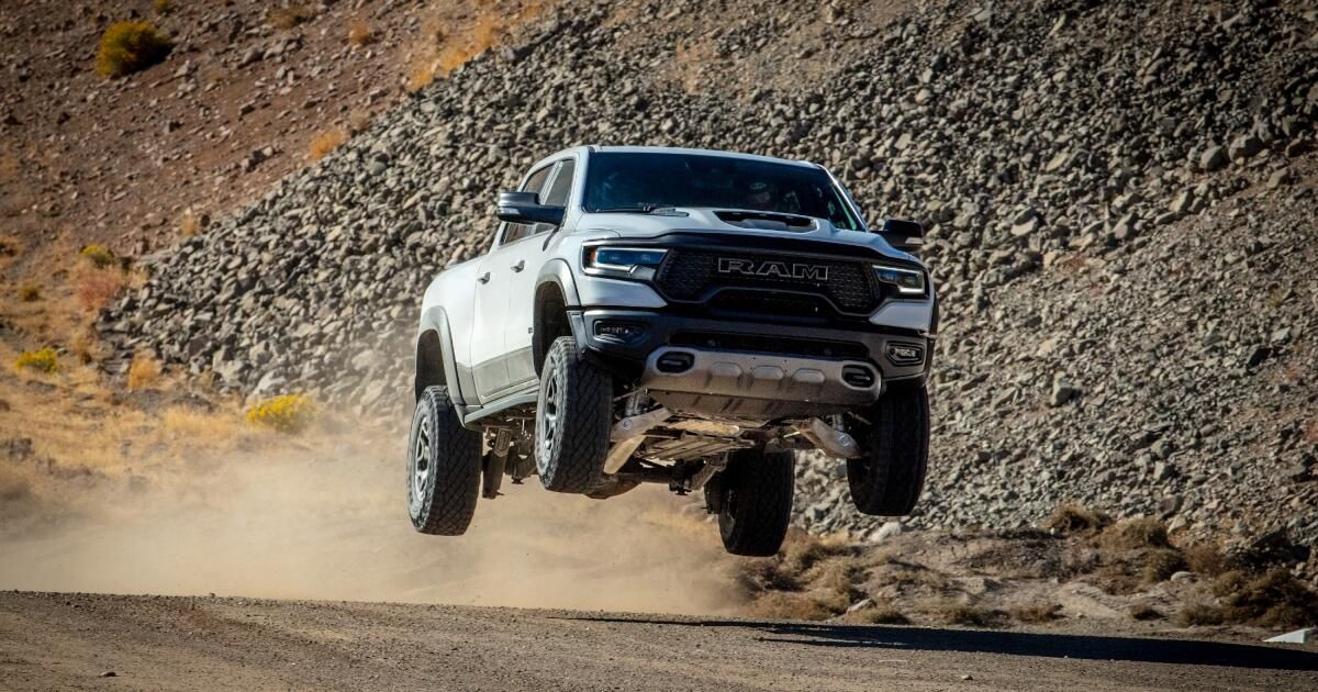 2021 Ram 1500 TRX first drive review: Yep, we got it to fly