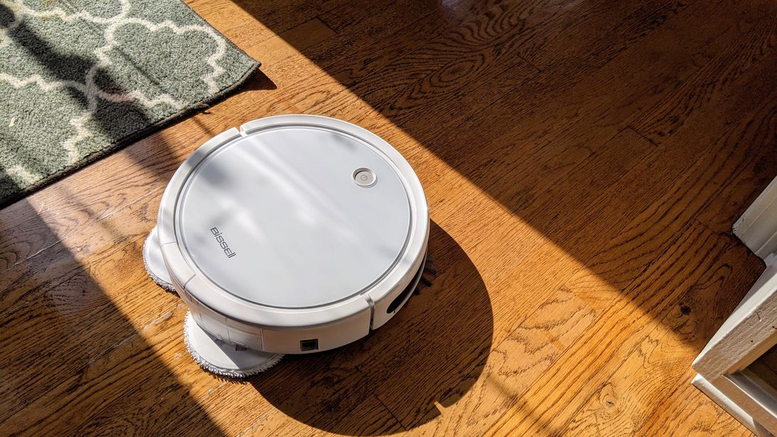Bissell's robot mops and vacuums at the same time, just don't ask it to navigate