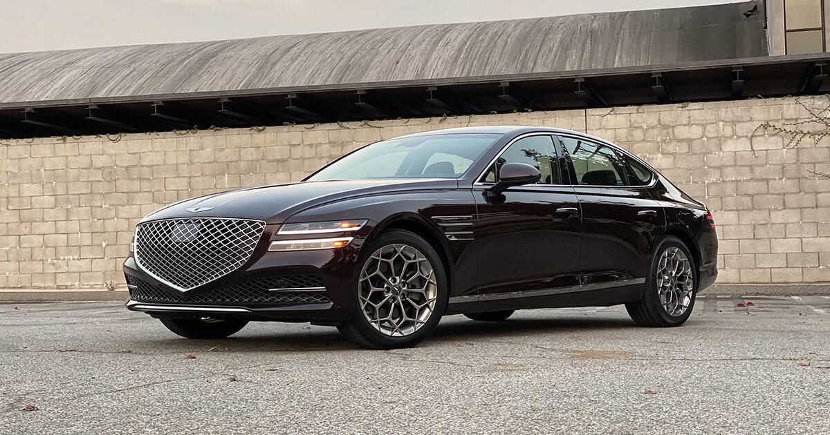 2021 Genesis G80 2.5T first drive review: Fantastic four