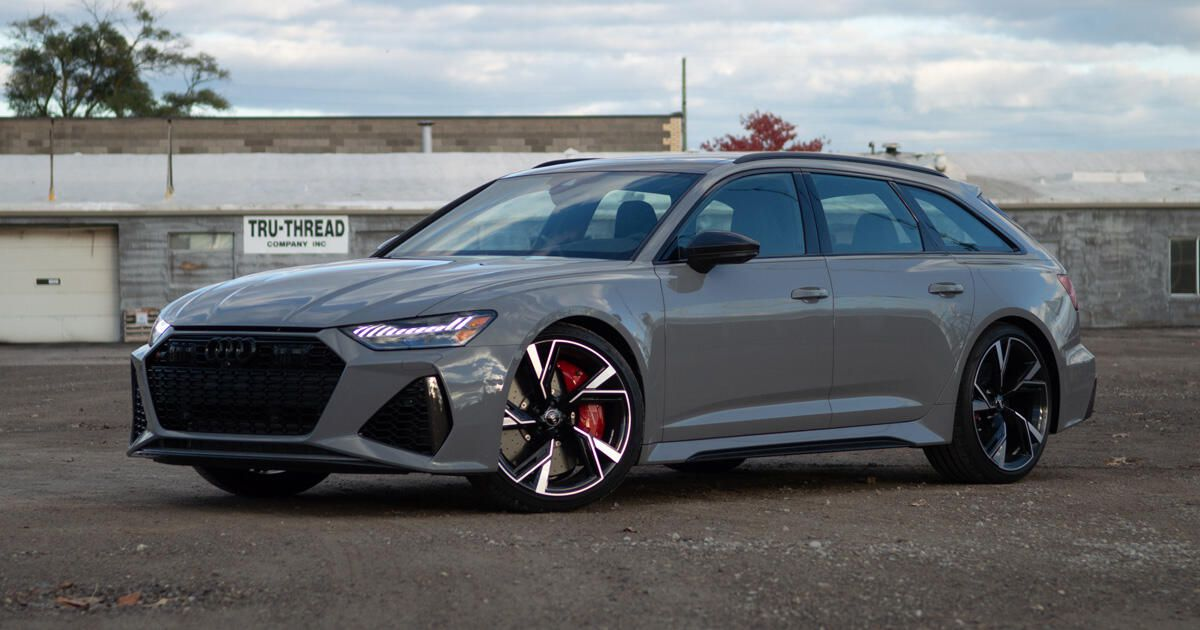 2021 Audi Rs6 Avant Review Swiss Army Wagon