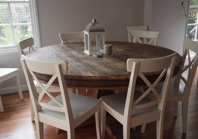 What is the Best Way to Use Round Kitchen Tables?