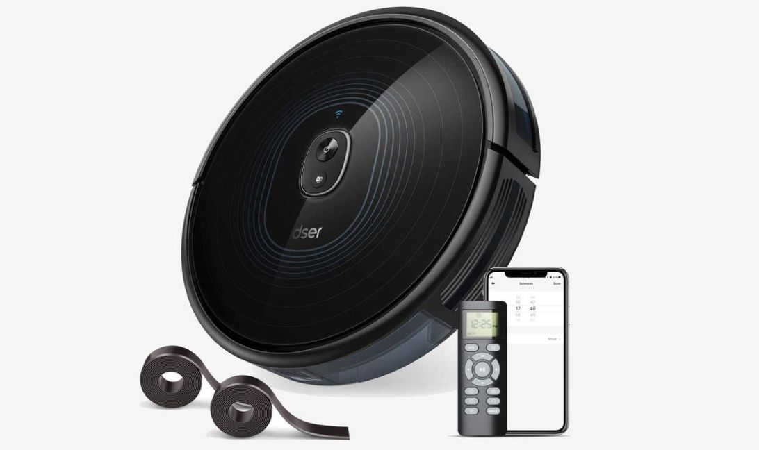 This high-suction smart robot vacuum is back on sale for $109