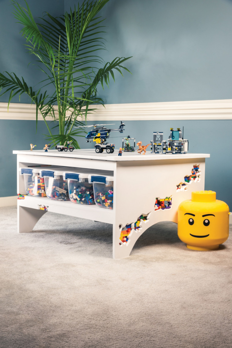 LEGO Table | Popular Woodworking Magazine
