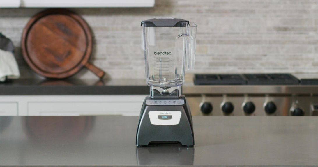 A powerful Blendtec 570 Classic blender is down to $190 right now