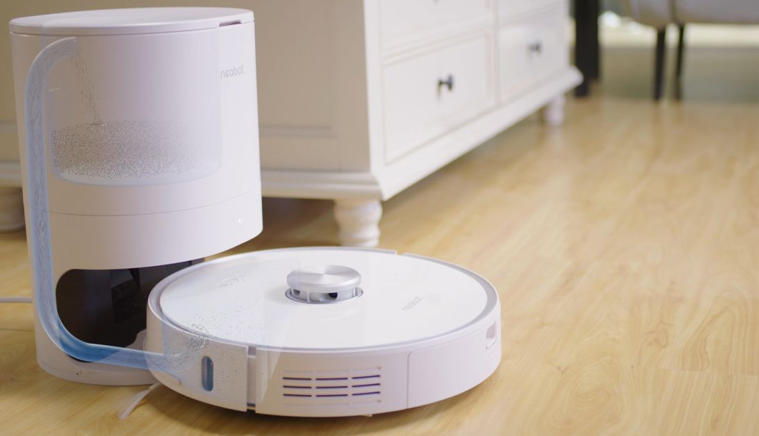 Get the Neabot self-emptying robot vacuum for $370, an all-time low