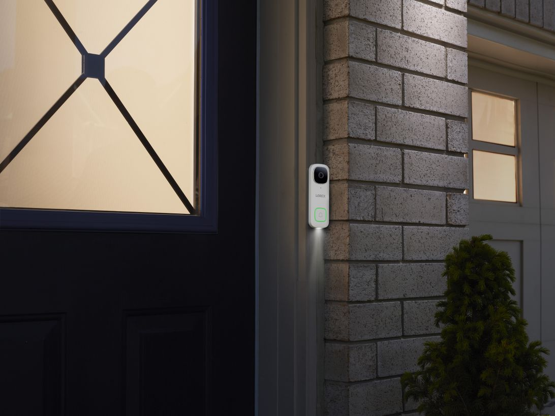 Lorex launches a 2K video doorbell with person detection