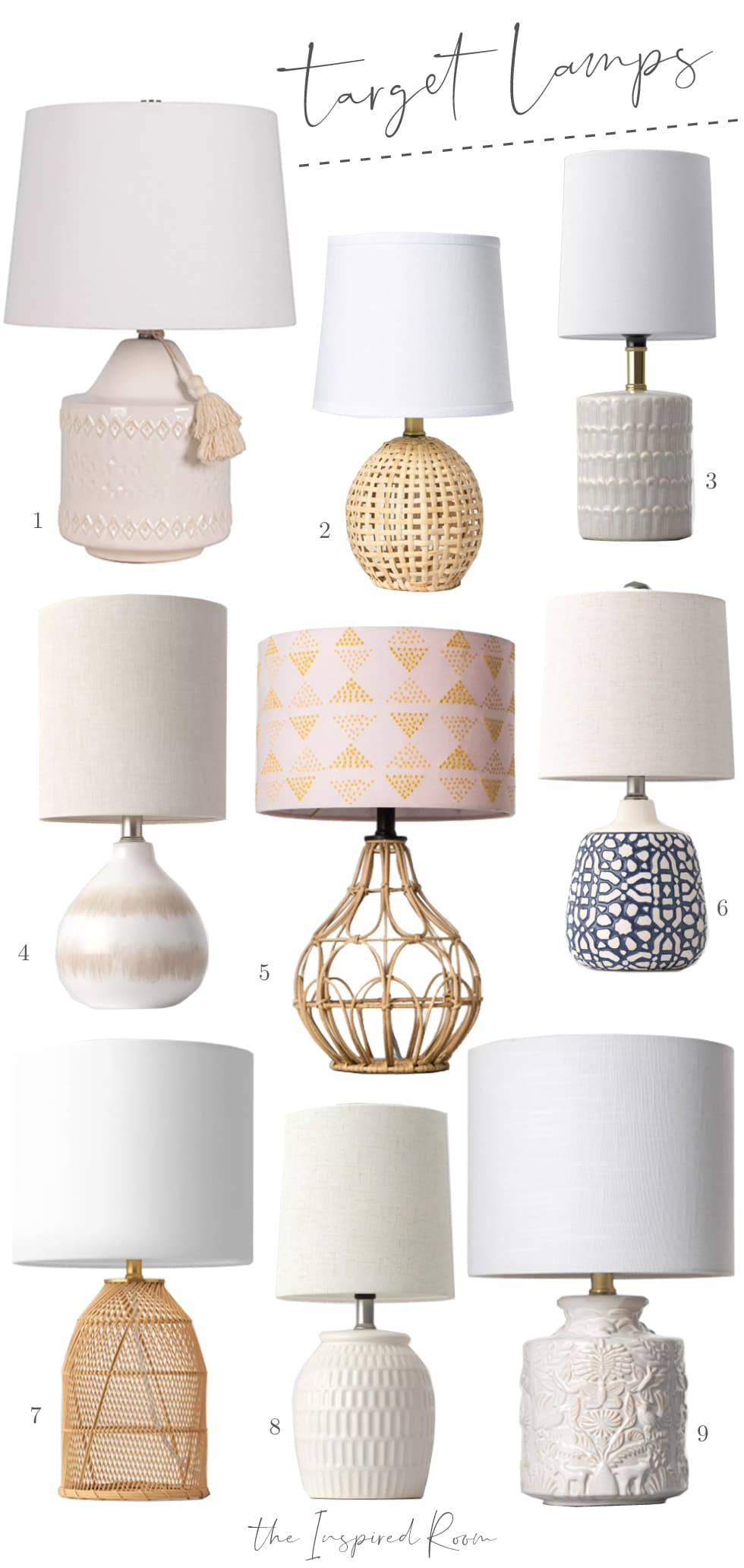 9 Affordable Lamps from Target