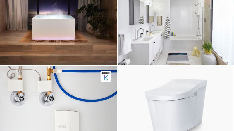 Kohler Showcases New Smart Bathroom Products at CES 2021