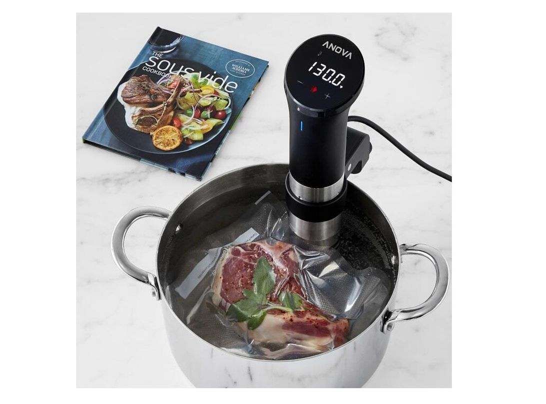 Step up your steak game with an Anova sous vide cooker for $120