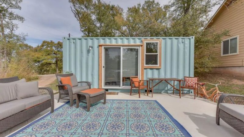 Bamboo II Shipping Container Home in Austin, Texas is Classy Hideaway