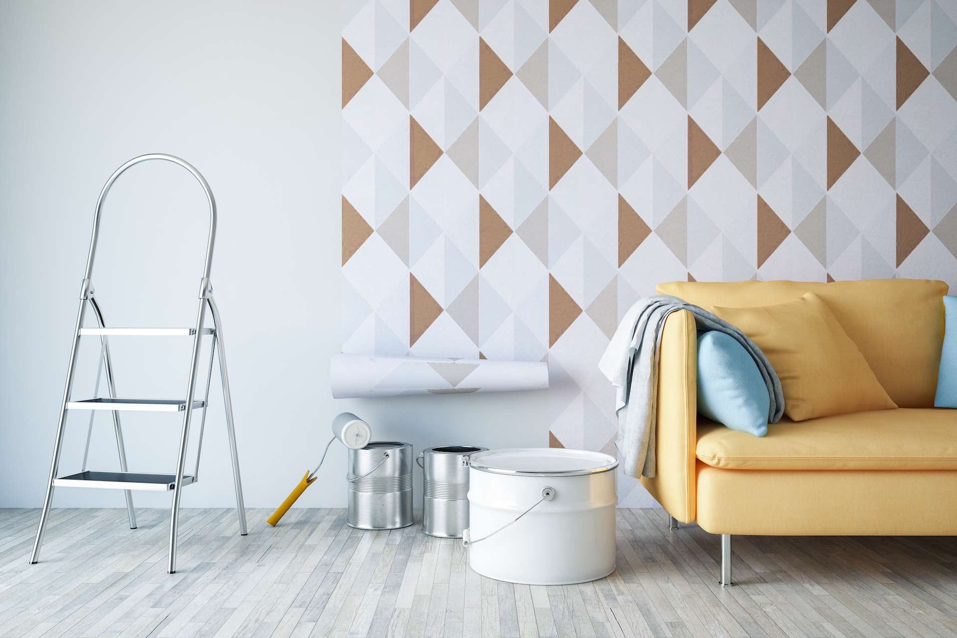 Can You Paint or Renovate a Rental Apartment?