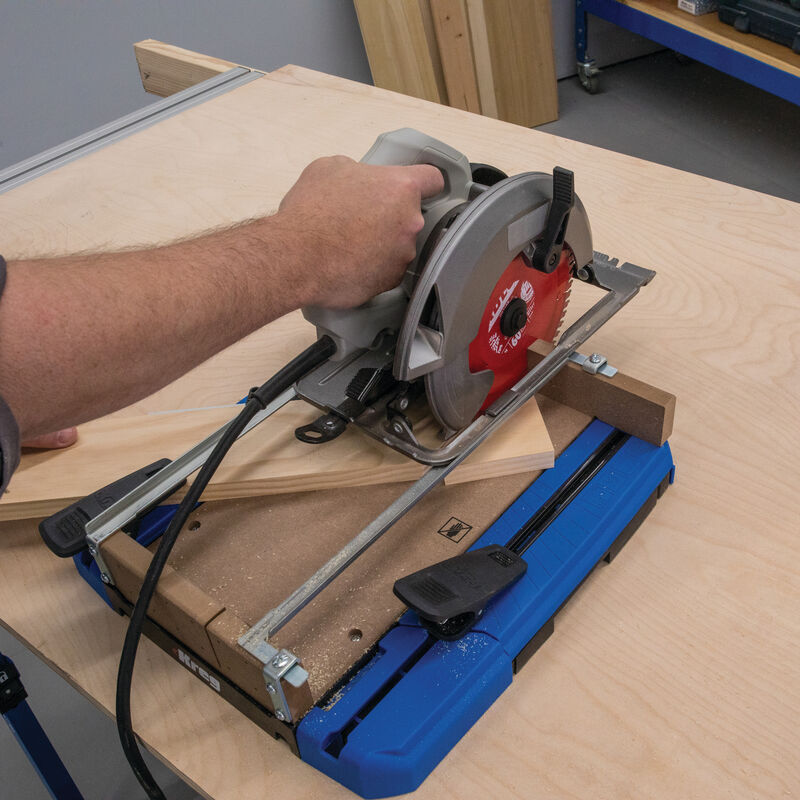 Circular Saw Crosscut Station | Popular Woodworking Magazine
