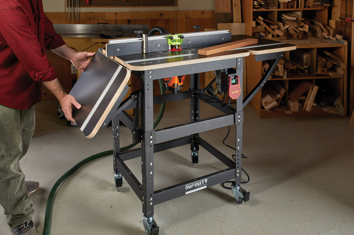 Infinity Professional Router Table Package Review