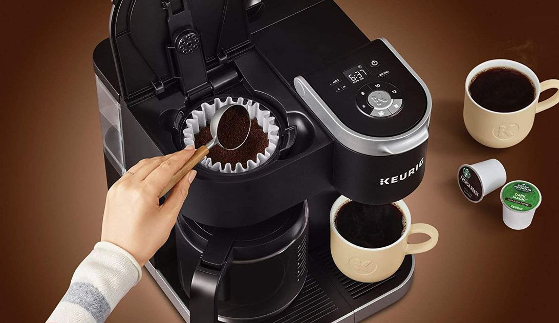 Save $70 on the Keurig K-Duo single-serve and carafe coffee maker