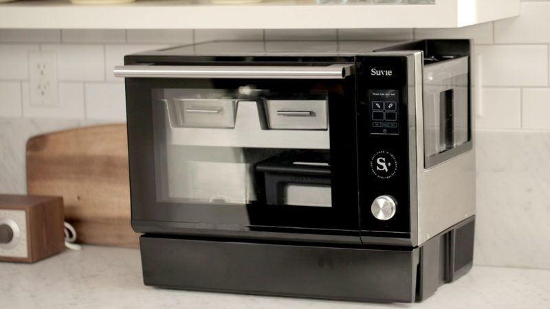 Suvie Kitchen Robot: Wi-Fi countertop oven refrigerates, cooks food