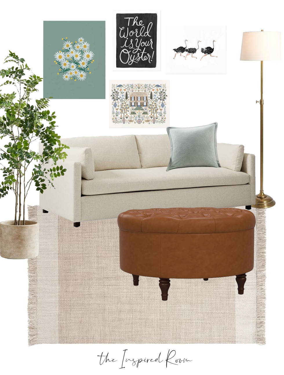 3 Common Decorating Mistakes When Displaying Art (+ Mood Boards + Buy One, Get Free Art Print)