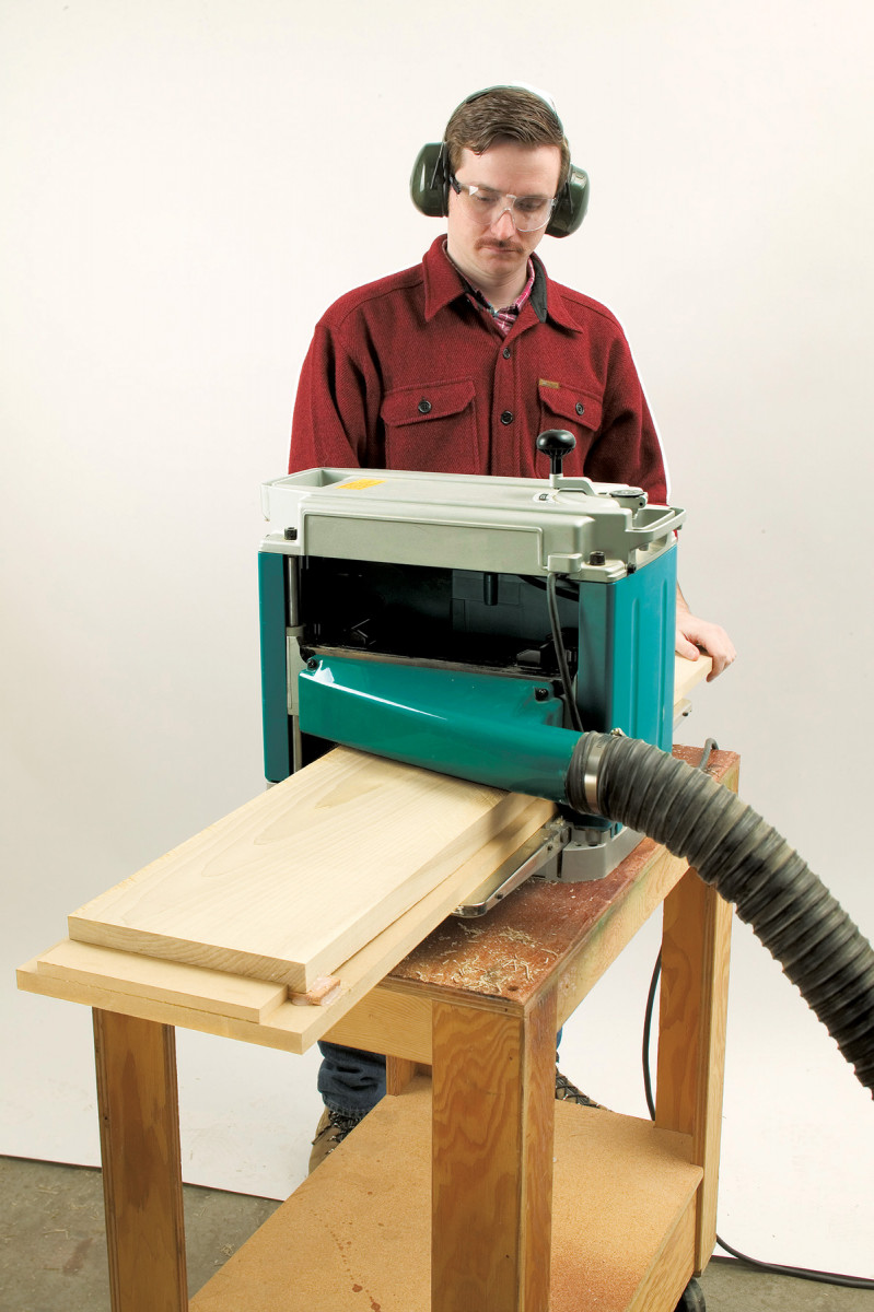 Jointing with a Planer   Popular Woodworking Magazine
