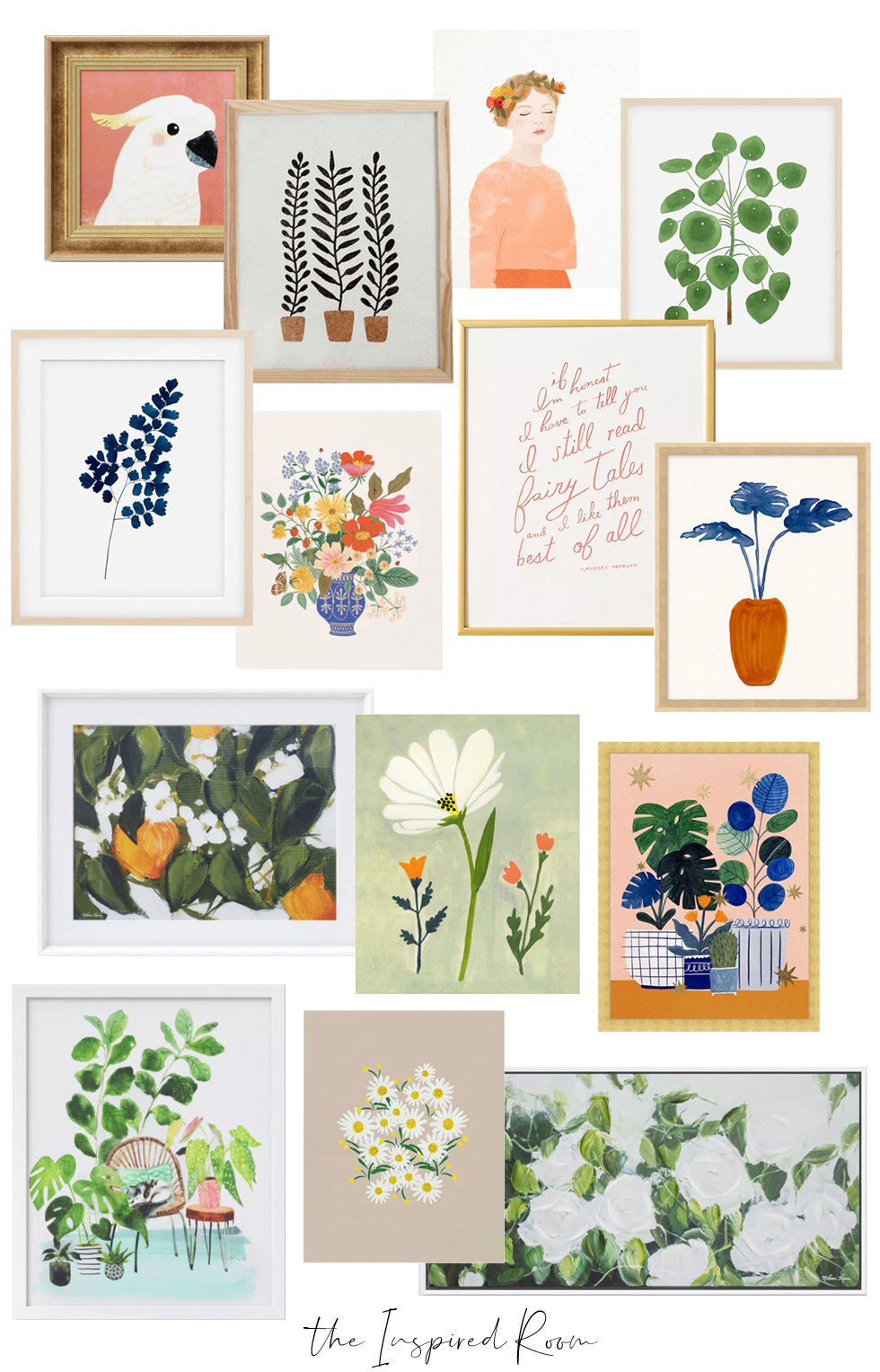 Pretty Artwork for Spring – The Inspired Room