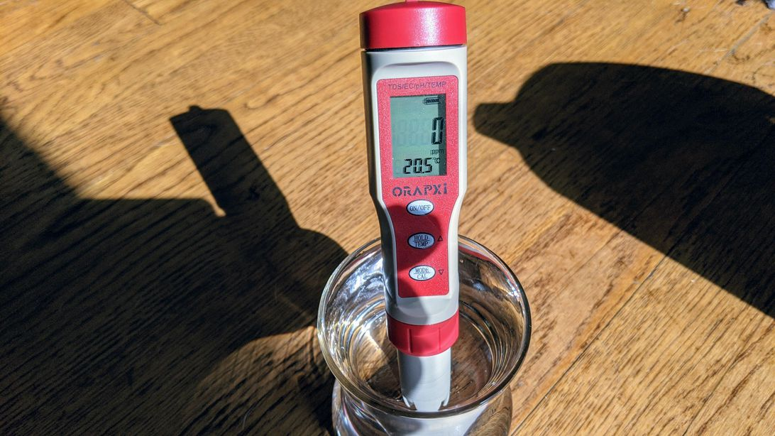 ZeroWater filtered water