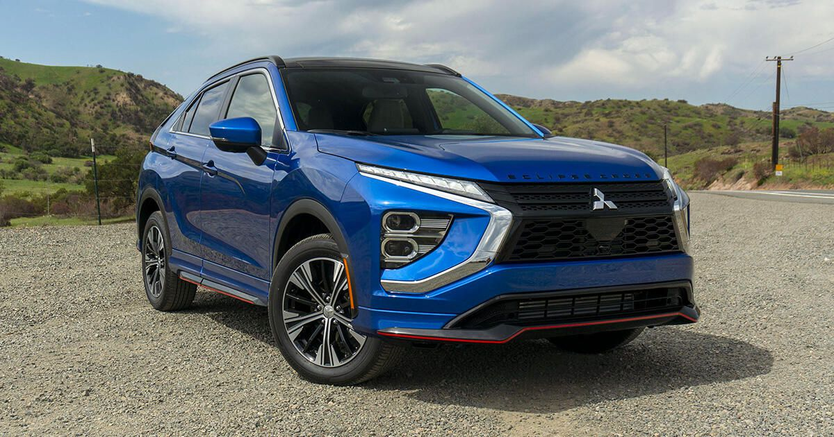 2022 Mitsubishi Eclipse Cross first drive review: Subtly better