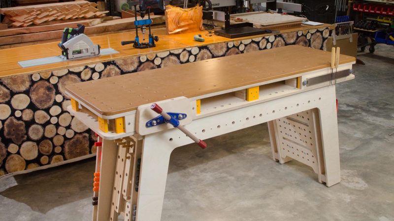 The Maker Workstation | Popular Woodworking Magazine