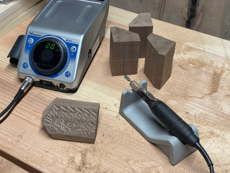 Precision and Power in a Handheld Grinder