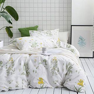 Botanical duvet cover set