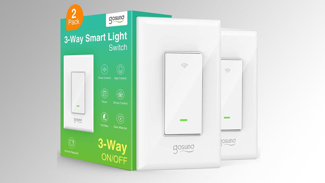 Get a pair of smart Wi-Fi 3-way light switches for $13.69, a tie for the lowest price ever