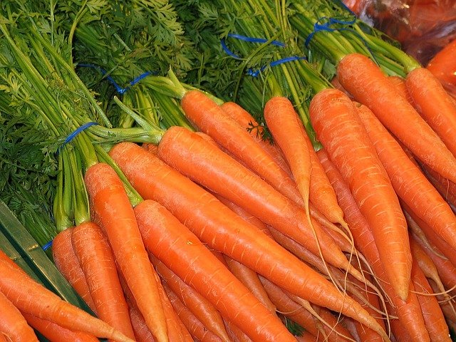 4 Carrot Bunches