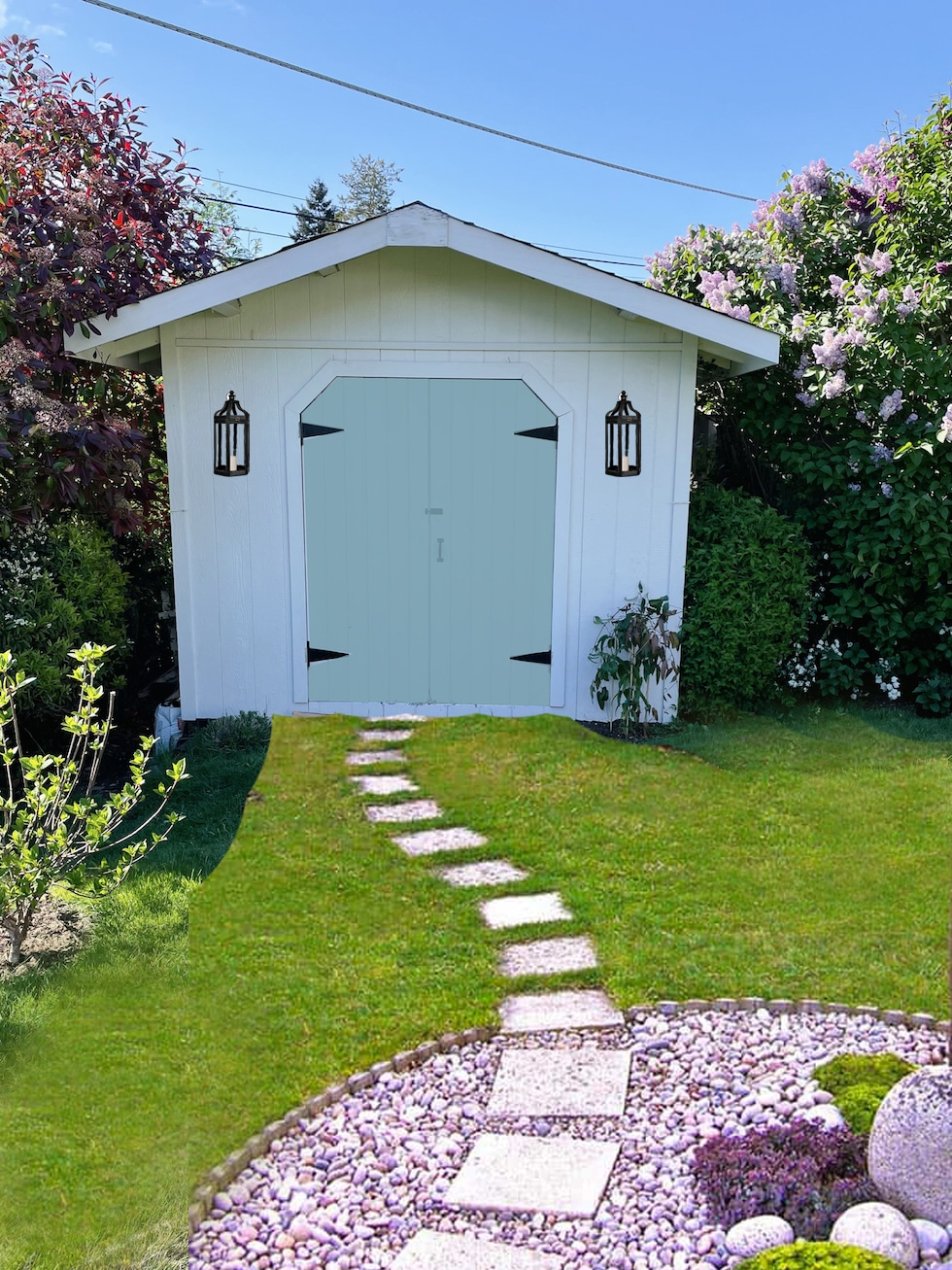 Help me redesign our garden shed (+ our tip for visualizing design changes)