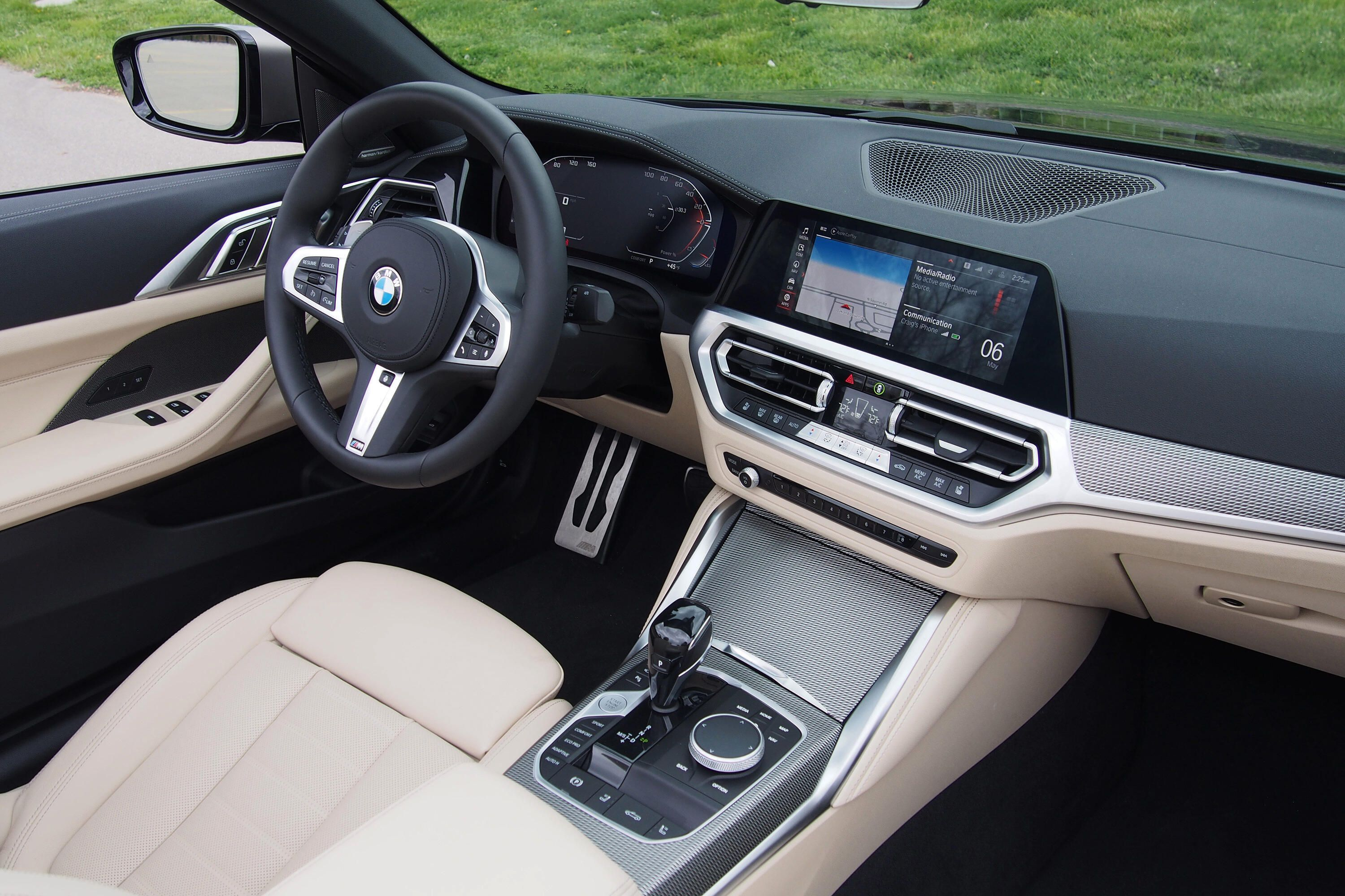 BMW M440i convertible from 2021