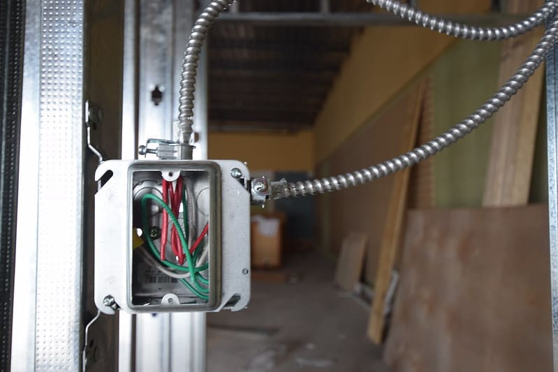 1 Electrical Outlet Interior