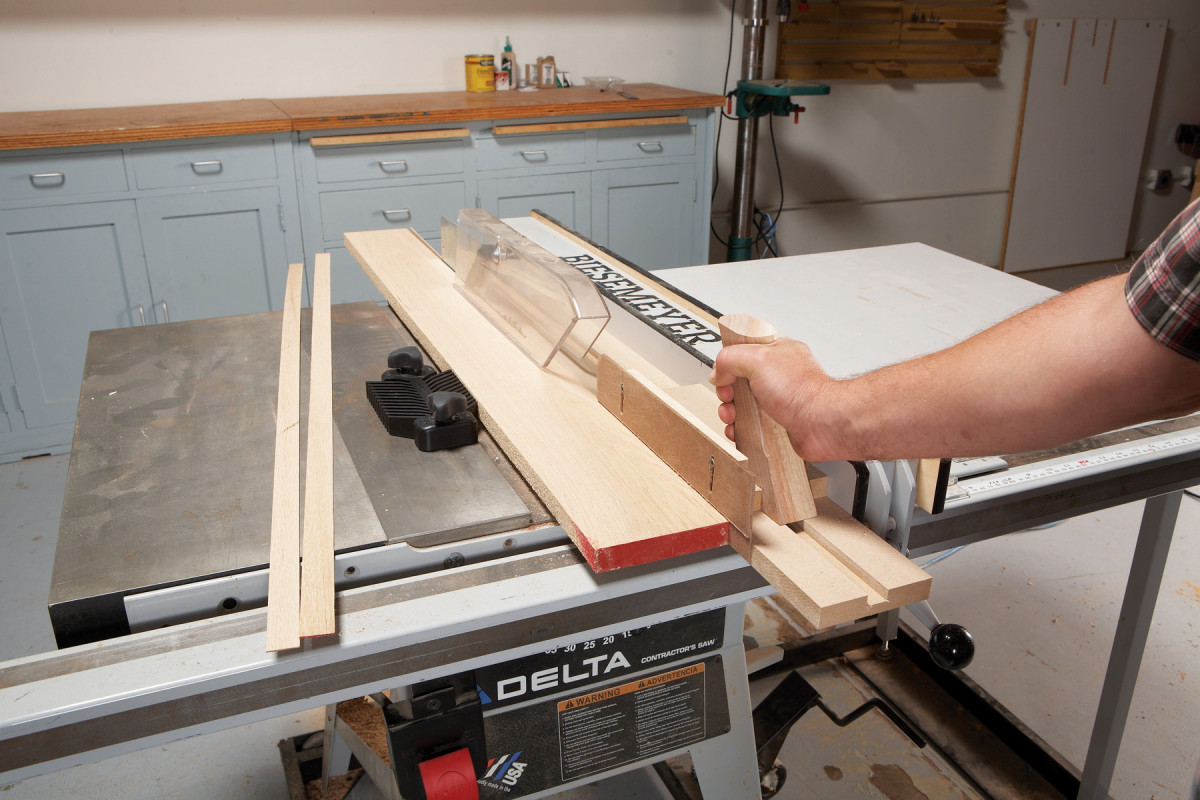 Ripping Thin Pieces | Popular Woodworking Magazine
