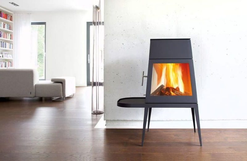 Wittus Shaker Wood Stove is Multifunctional Fireplace Worth Every Interior