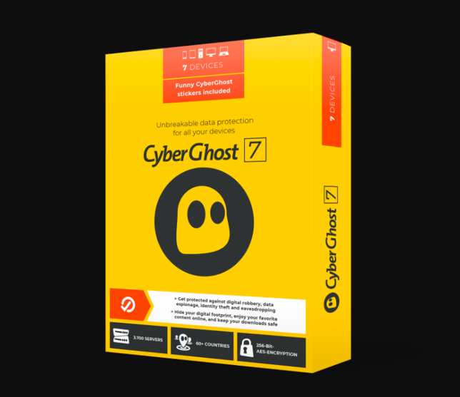 CyberGhost 7 Software Package 2020