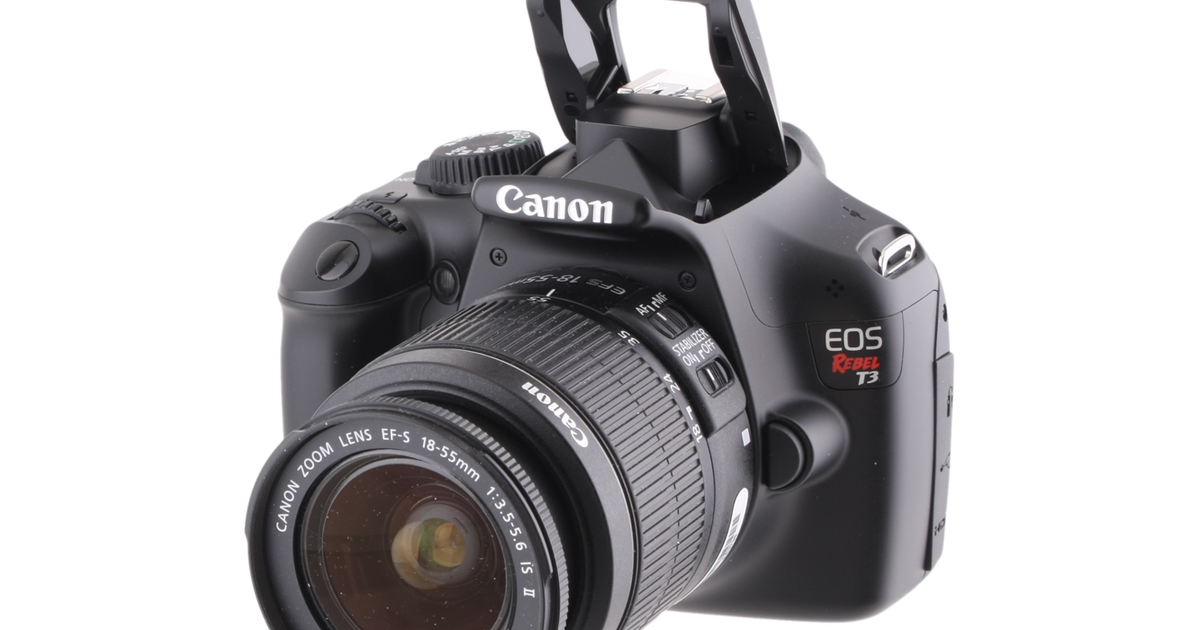 Canon EOS Rebel T3 review